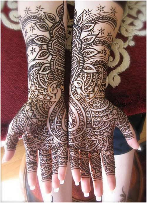 Breathtaking Mehendi Design