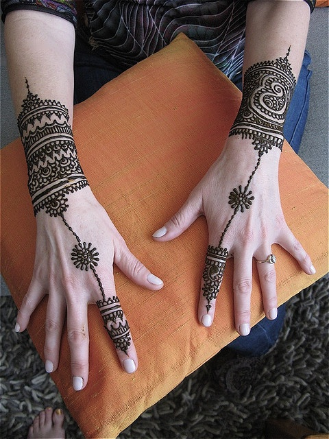 Ornament Mehendi Design