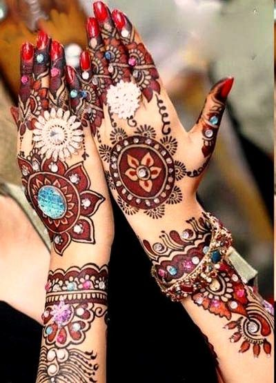 Shaded Mehendi